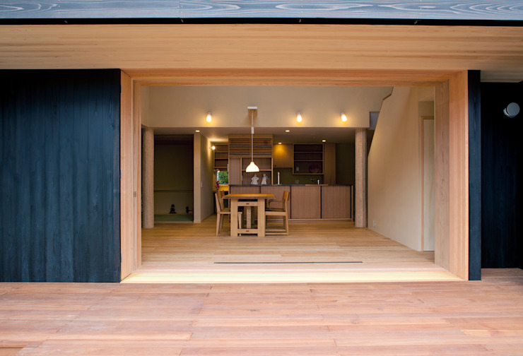 Scandinavian style houses by しまだ設計室 Scandinavian