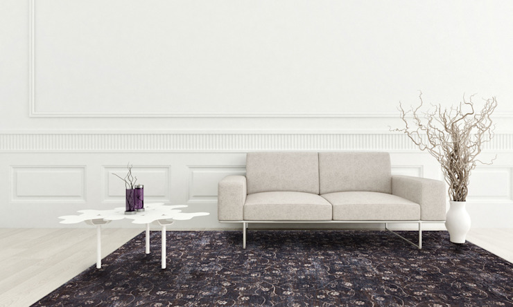 Twinkle Slate Quarry Interior: modern  door louis de poortere, Modern