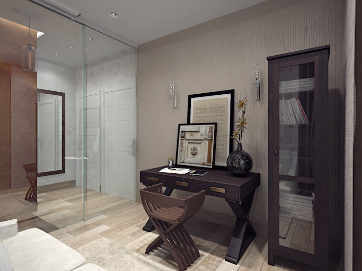 Гостевая спальня Спальня в стиле модерн от Олег Елфимычев Модерн
