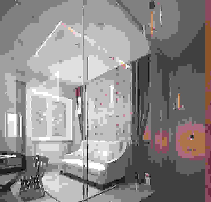 Холл второго этажа Спальня в стиле модерн от Олег Елфимычев Модерн