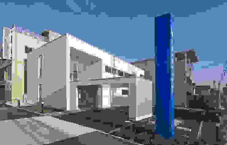 杉浦内科クリニック モダンな病院 の 有限会社笹野空間設計 モダン