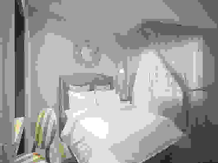 Спальня дочери Спальня в стиле модерн от Олег Елфимычев Модерн