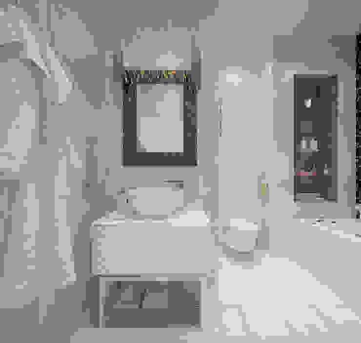 Санузел Ванная комната в стиле модерн от Олег Елфимычев Модерн