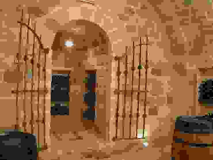 ห้องเก็บไวน์ โดย Estudio A. Devalle-Granell Arquitectura., ชนบทฝรั่ง