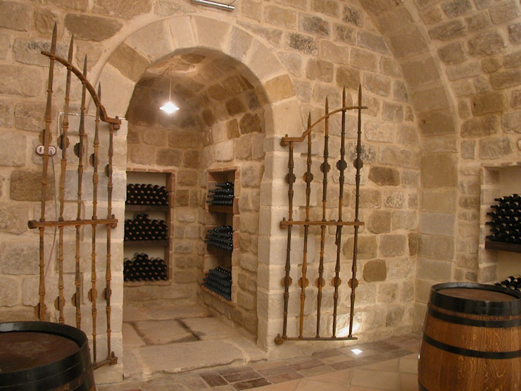 Estudio A. Devalle-Granell Arquitectura. قبو النبيذ