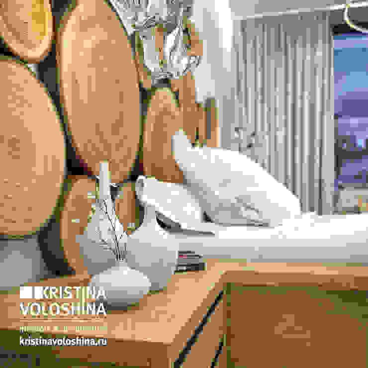 экостиль Спальня в скандинавском стиле от kristinavoloshina Скандинавский