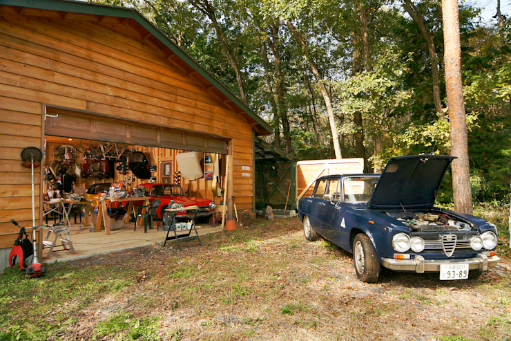 J-STYLE GARAGE Co.,Ltd. Country style garage/shed