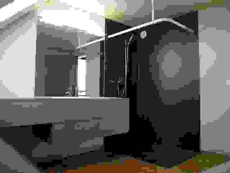pasifa häuser güttingen schweiz Minimalistische Badezimmer von airarchitekten ag Minimalistisch