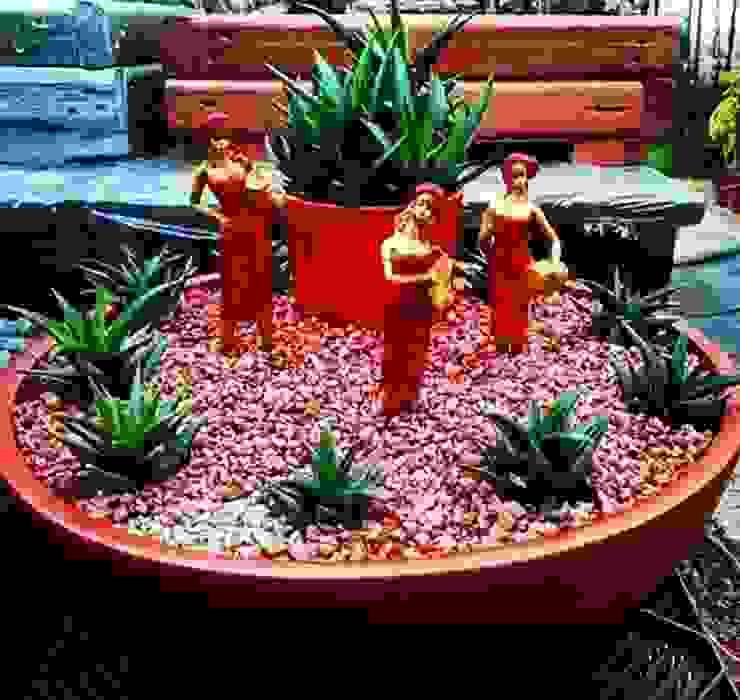 Jardines minimalistas de ESLEM GARDEN Minimalista