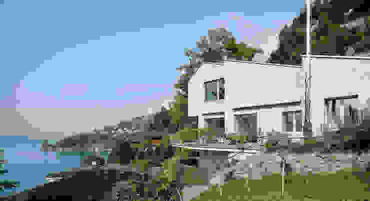 Um- und Ausbau Einfamilienhaus in Vitznau, Luzern Skandinavische Häuser von Forsberg Architekten AG Skandinavisch