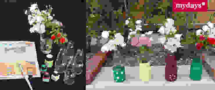 Upcycling: Blumentöpfe aus einfachen Glasflaschen von mydays Mediterran