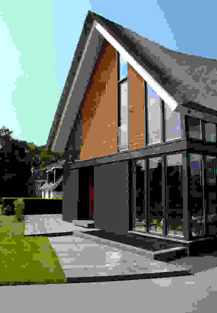 Voorgevel Moderne huizen van MEF Architect Modern