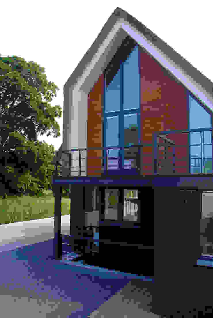 Achtergevel Moderne huizen van MEF Architect Modern