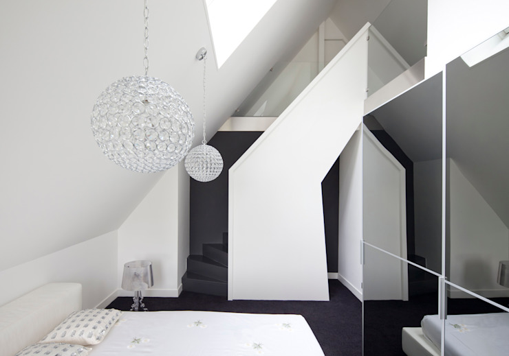 Slaapkamer Moderne slaapkamers van MEF Architect Modern