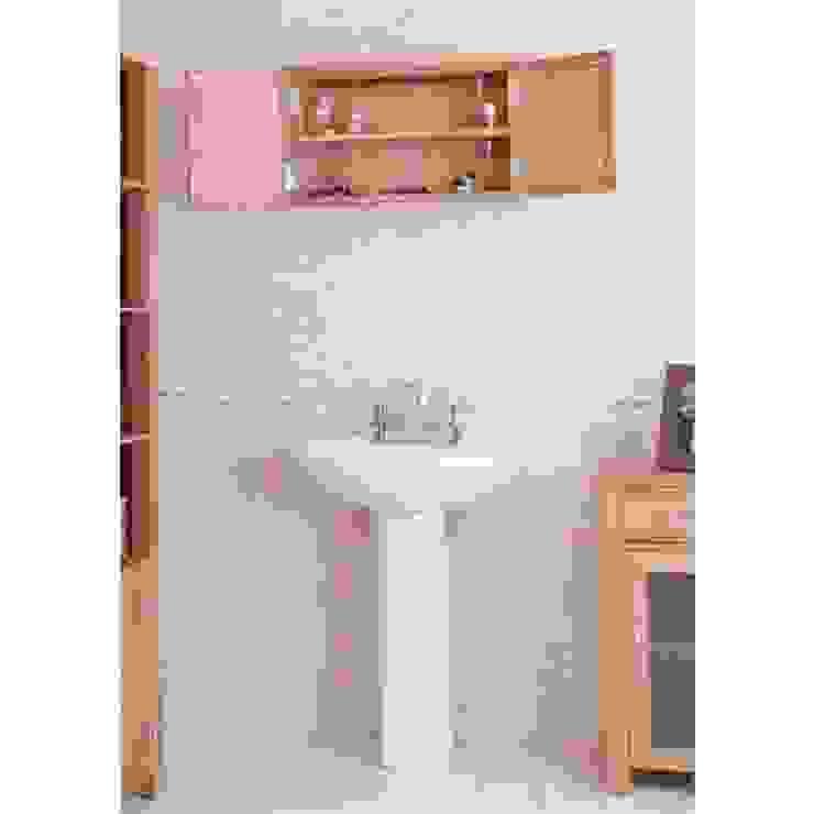 Bonsoni Mobel Oak Wall Mounted Bathroom Cabinet (Large) homify BathroomShelves
