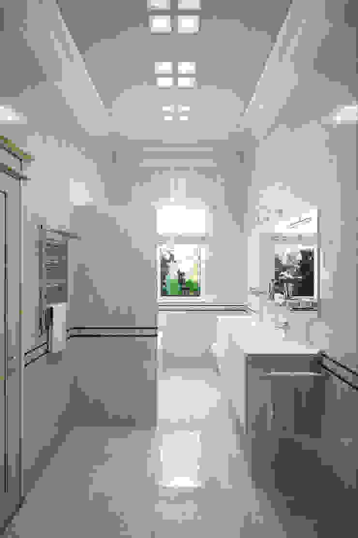 Студия интерьера 'SENSE' Eclectic style bathroom