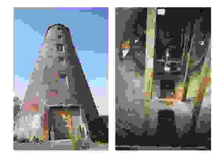 Réhabilitation d'un ancien moulin à vent en habitation - Hainaut - Belgique par Draw&dO