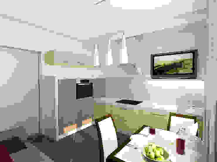 Студия интерьера 'SENSE' Eclectic style kitchen