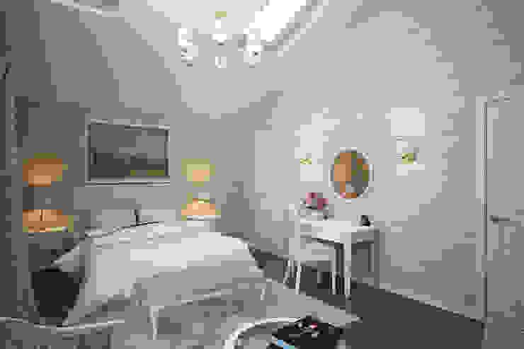 """Интерьер дома в поселке """"Особый Статус"""" Спальня в классическом стиле от Студия интерьера 'SENSE' Классический"""