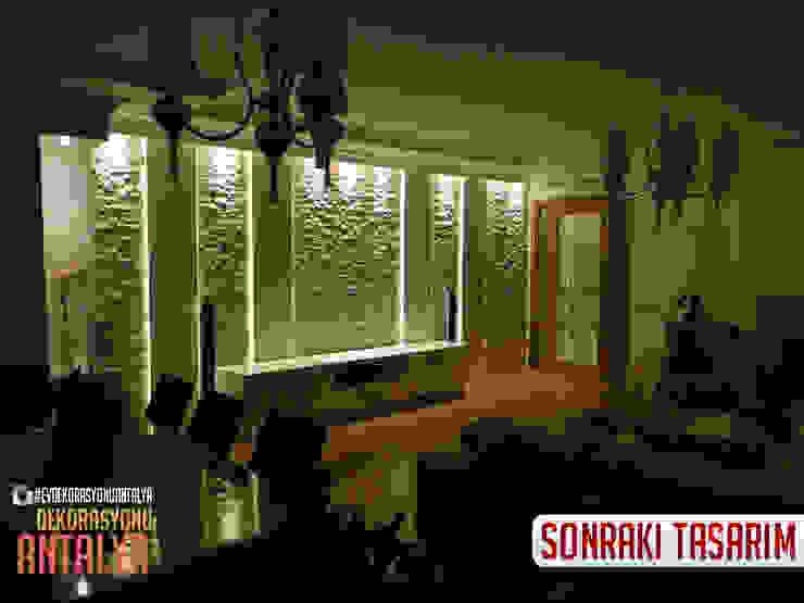 A'dan Z'ye Salon yenilememiz Ev Dekorasyonu Antalya Akdeniz