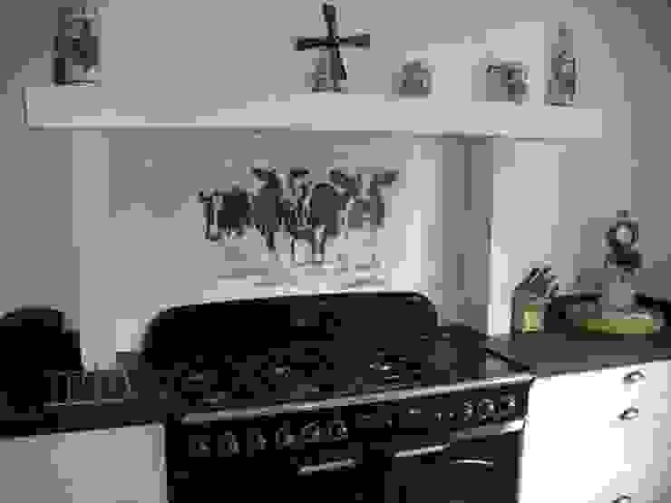 Friesische Fliesen Landelijke keukens van Rozendonk Landelijk