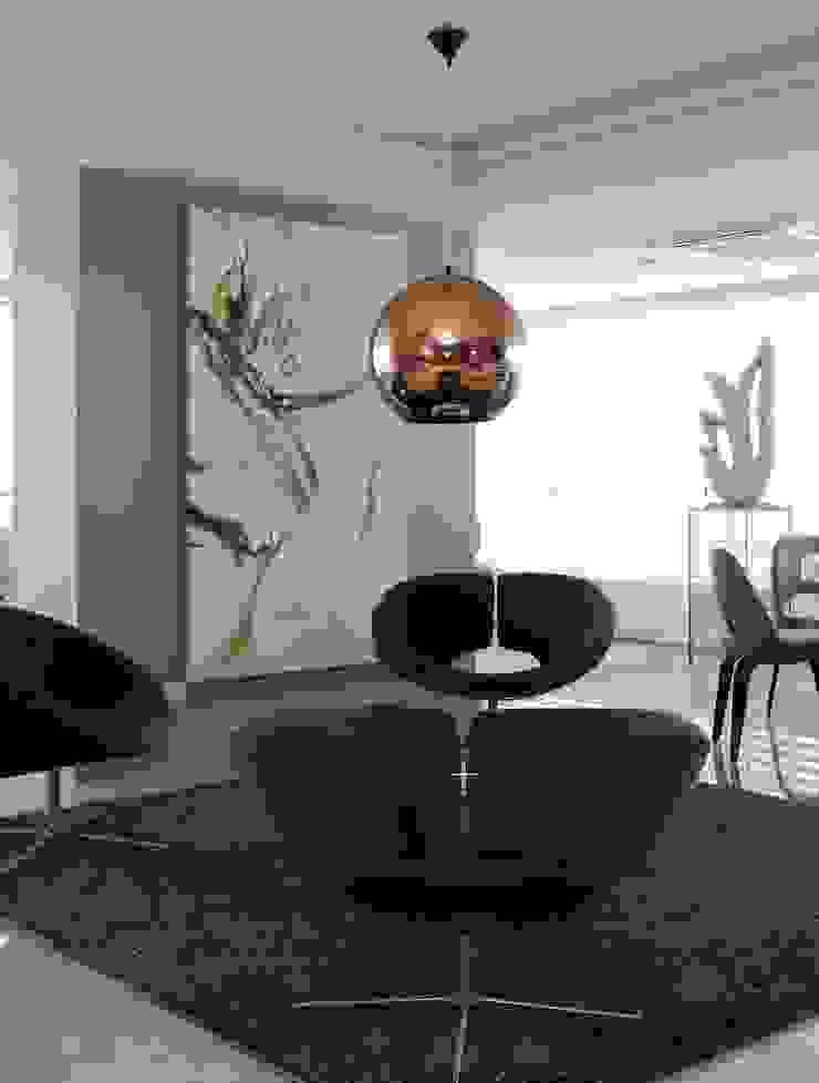 APARTAMENTO 300m2 – CASA FORTE- RECIFE-PE Salas de estar modernas por ROMERO DUARTE & ARQUITETOS Moderno