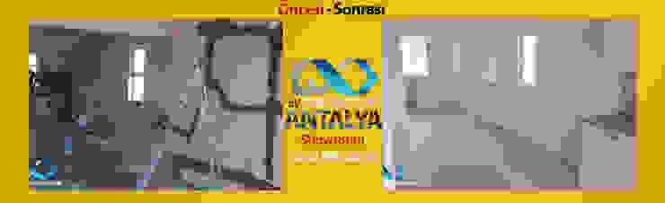 Ev Dekorasyonu Antalya – 1+0 Dairemizin A'dan Z'ye Tadilat Çalışması ÖNCESİ-SONRASI:  tarz İç Dekorasyon,