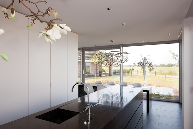 Woonhuis Uitgeest Moderne keukens van Jan de Wit architect Modern