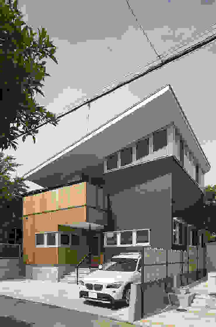 西庇の家 モダンな 家 の 株式会社建楽設計 モダン
