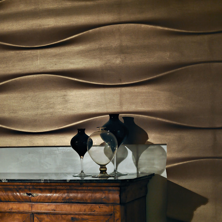 alessandromarchelli+designers AM+D studio Dinding & Lantai Modern
