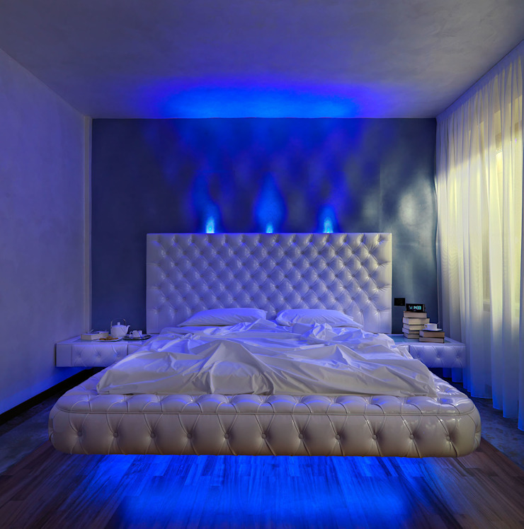 alessandromarchelli+designers AM+D studio Kamar Tidur Modern