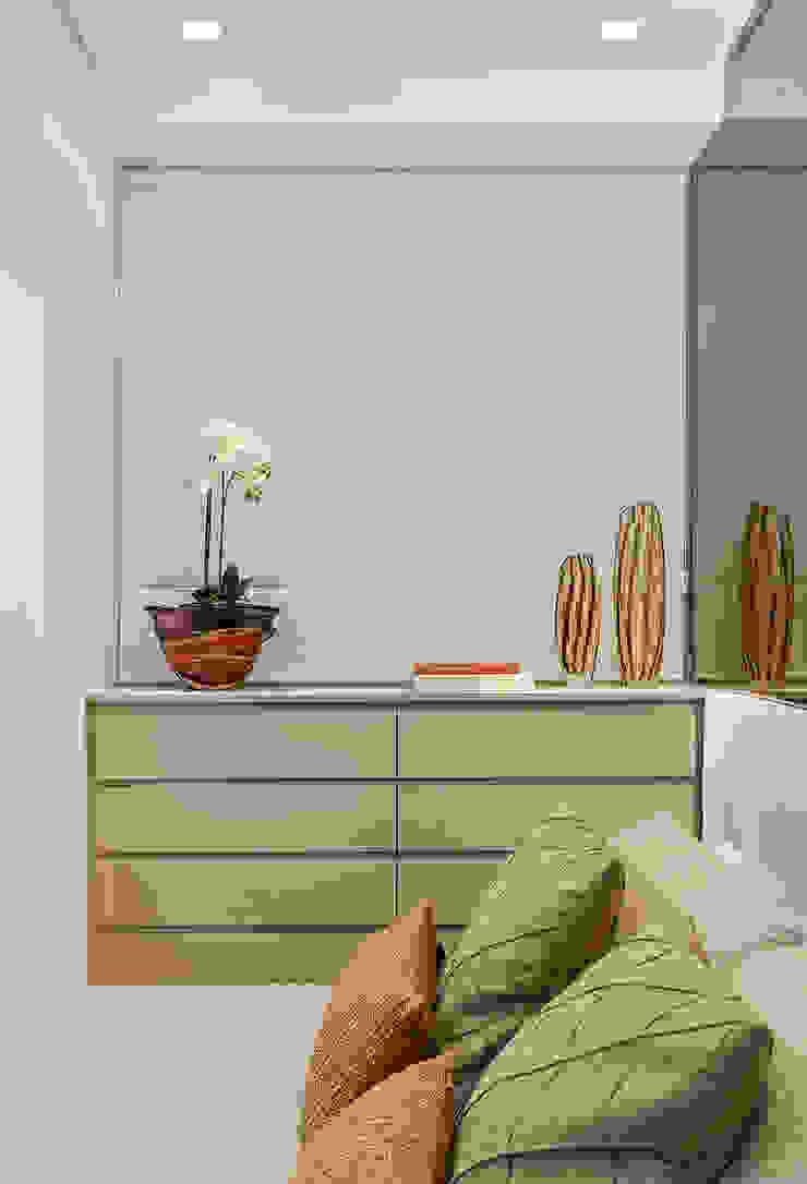 Apartamento MD Quartos modernos por ÓBVIO: escritório de arquitetura Moderno