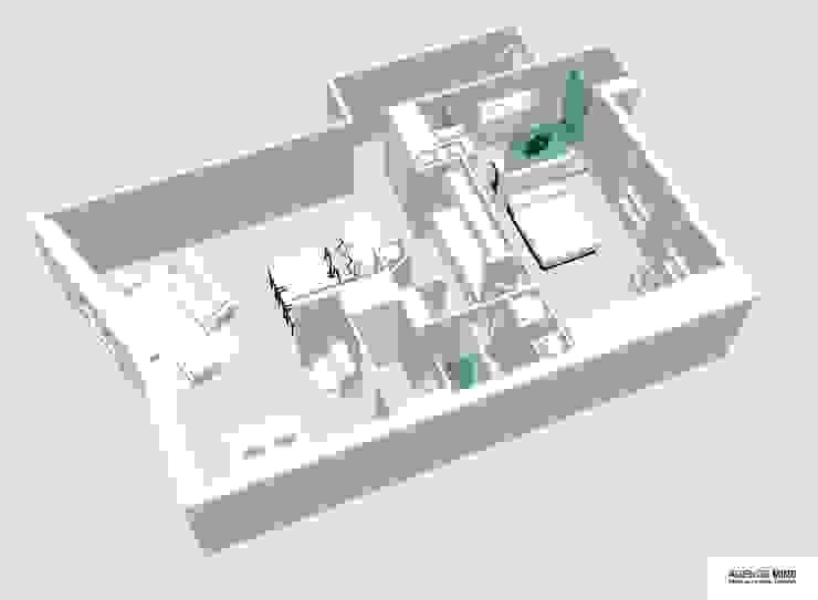 3D vue générale par Agence MIND Moderne