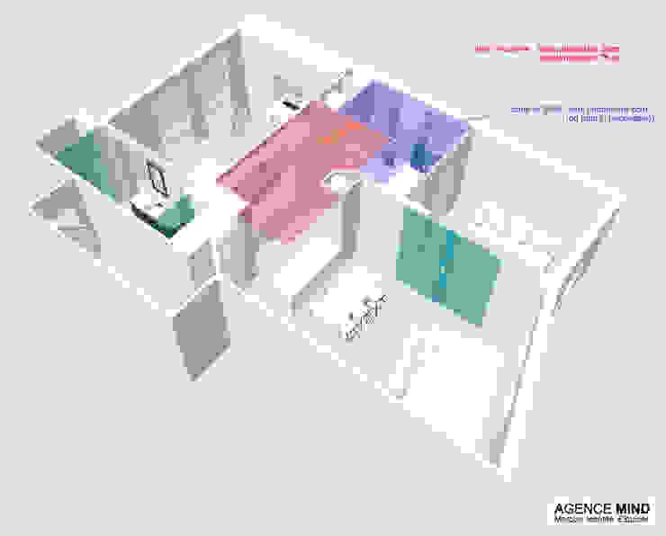 3D faux-plafond par Agence MIND Moderne
