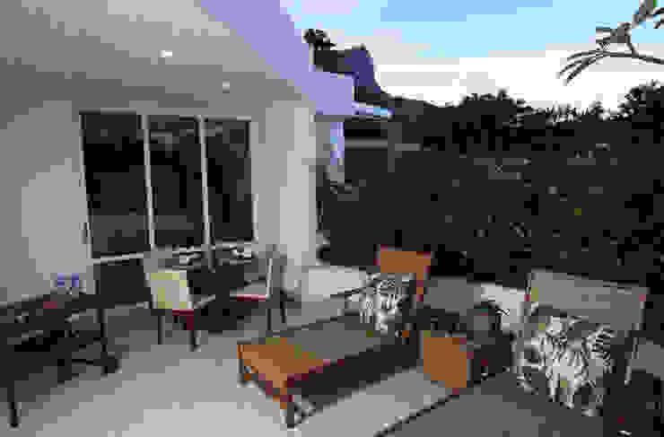 Cobertura Horto Varandas, alpendres e terraços modernos por Fernanda Leme Arquitetura e Design de Interiores Moderno