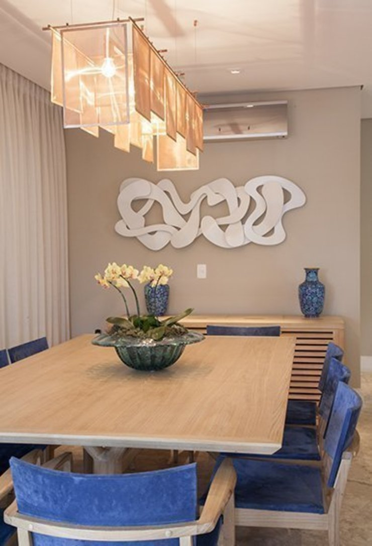 Apto. Vila Nova Salas de jantar modernas por Maria Teresa Rodrigues Alves Moderno