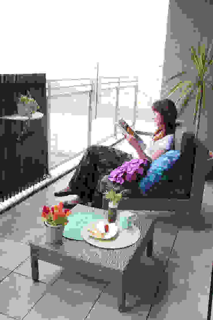 ファーストリビング「オープンカフェプラン」: 東邦レオ株式会社が手掛けた折衷的なです。,オリジナル