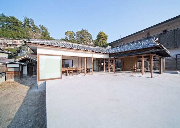 modern  oleh 中本一哉建築設計事務所, Modern
