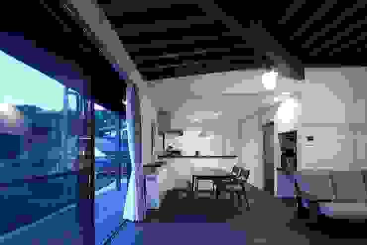 長門の家 House In Nagato オリジナルデザインの ダイニング の 飯塚建築工房 オリジナル