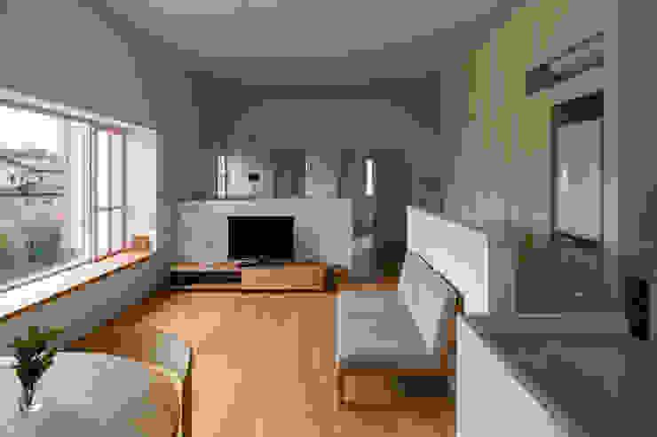 水野純也建築設計事務所 ห้องนั่งเล่น
