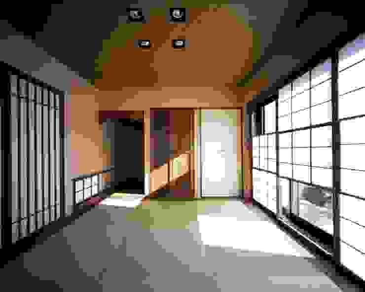 深川の家 House In Fukawa オリジナルスタイルの 寝室 の 飯塚建築工房 オリジナル