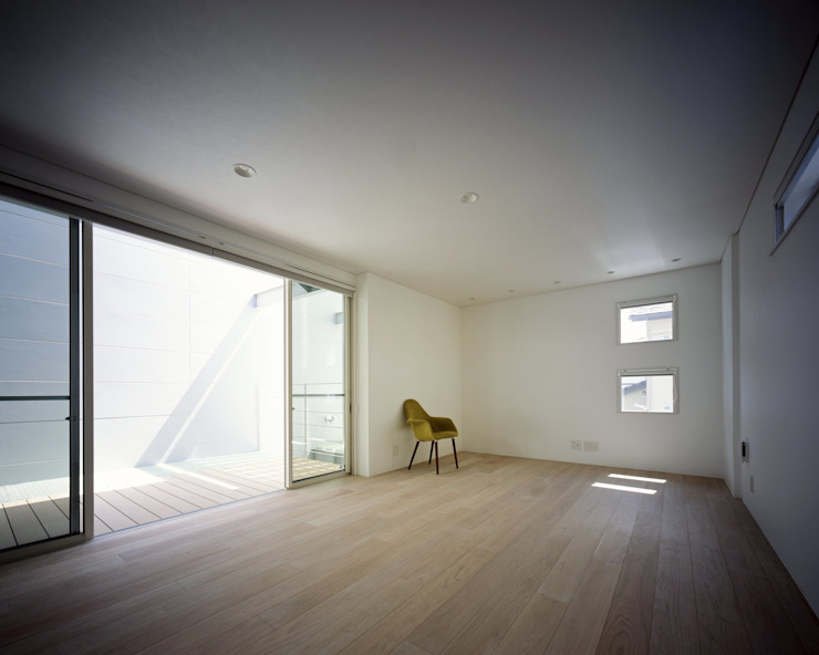 段原の家 House In Danbara オリジナルデザインの リビング の 飯塚建築工房 オリジナル