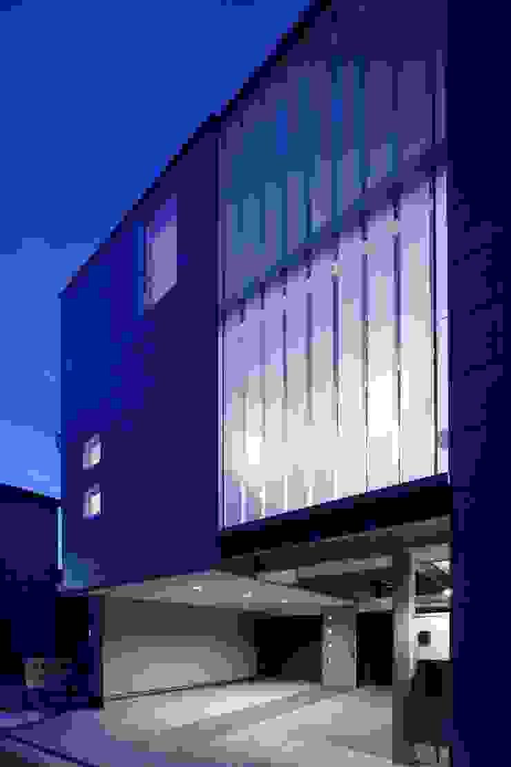 段原の家 House In Danbara オリジナルな 家 の 飯塚建築工房 オリジナル