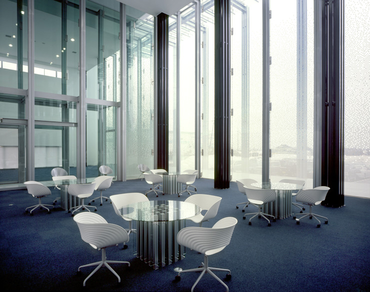 SANSHIBA Glass factory: MOAが手掛けた壁です。,オリジナル