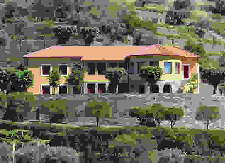 Rustic style houses by Germano de Castro Pinheiro, Lda Rustic