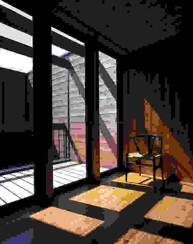 . 北欧デザインの テラス の L.V.M. 計画 一級建築士事務所 北欧