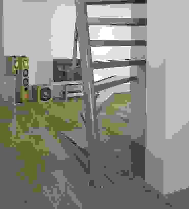 1m2 by EeStairs® – Ruimtebesparende trap: modern  door EeStairs | Stairs and balustrades, Modern