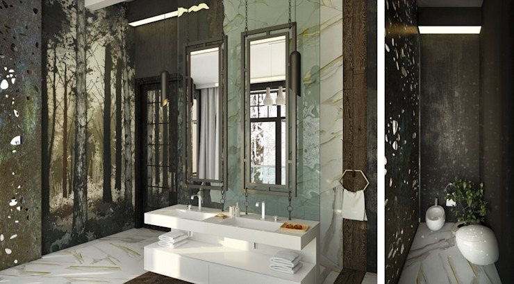 Eclectic style bathroom by WhiteRoom Eclectic