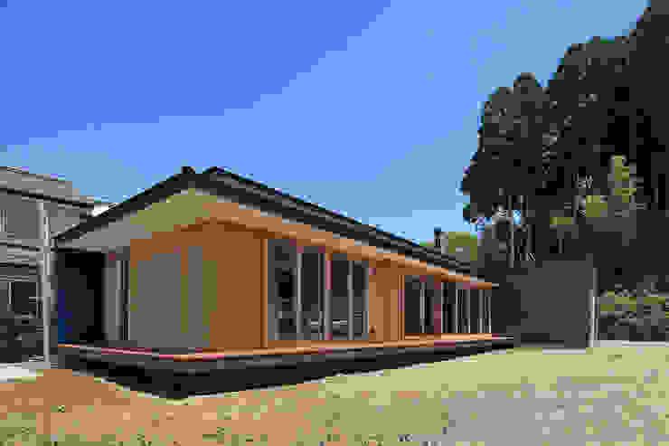 CONVEX HOUSE / 南西外観 モダンな 家 の SCALE     株式会社スケール モダン