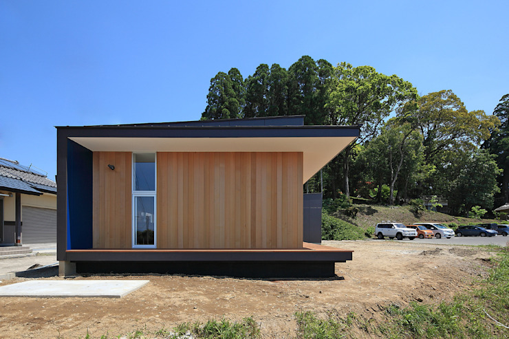 CONVEX HOUSE / 西側外観 モダンな 家 の SCALE     株式会社スケール モダン